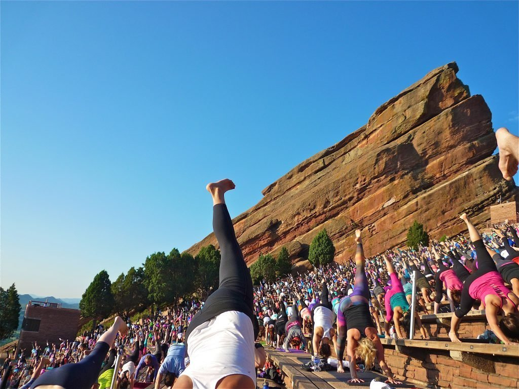 My Yoga On The Rocks Adventure With Core Power Yoga In Red Rocks Colorado Photos Text By Glenn Belverio A Shaded View On Fashion