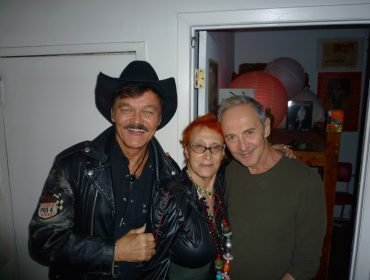 Randy Jones (the original Cowboy from the Village People) with performance artists Philly Abe and the great John Kelly