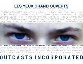 LES YEUX - INVITATION FB COVER