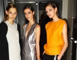 S/S at Narciso Rodriguez with Sonny Vandevelde
