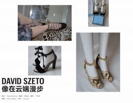 David Szeto does shoes...and fashion, of course