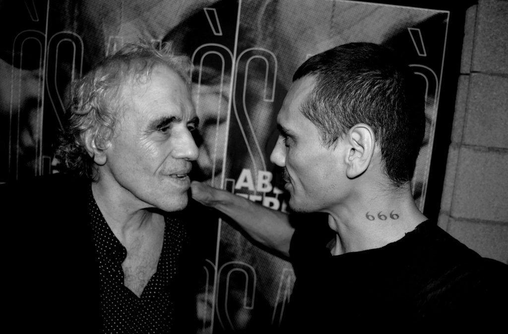 Abel Ferrera meets Luizo at Silencio