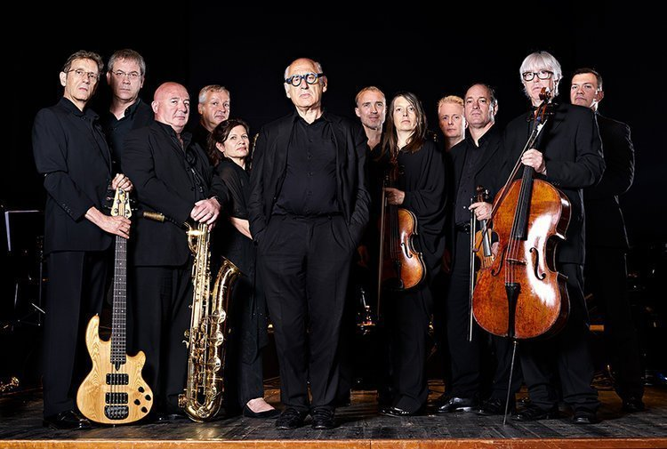 The Michael Nyman Band celebrates its 40th birthday at the Barbican Centre on Monday 14 November