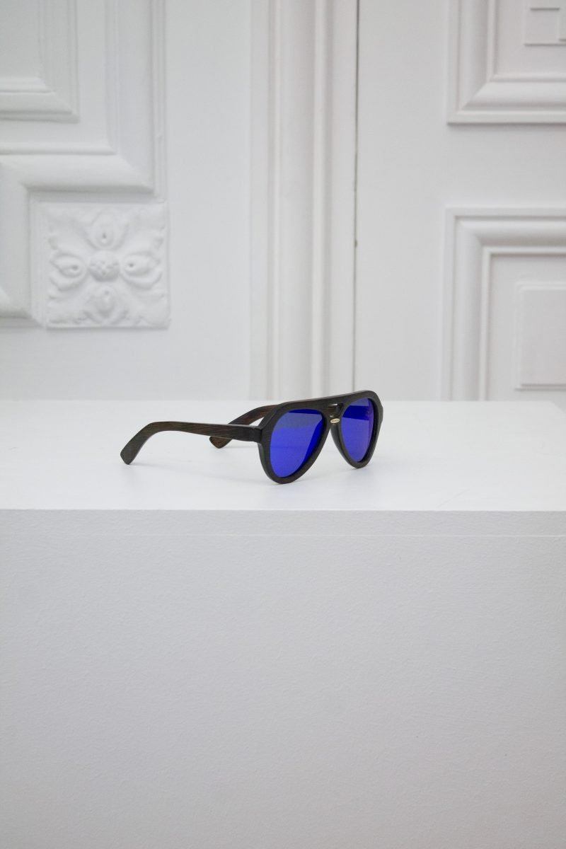 Intergalactic Mirrored Sunglasses - Royal Blue