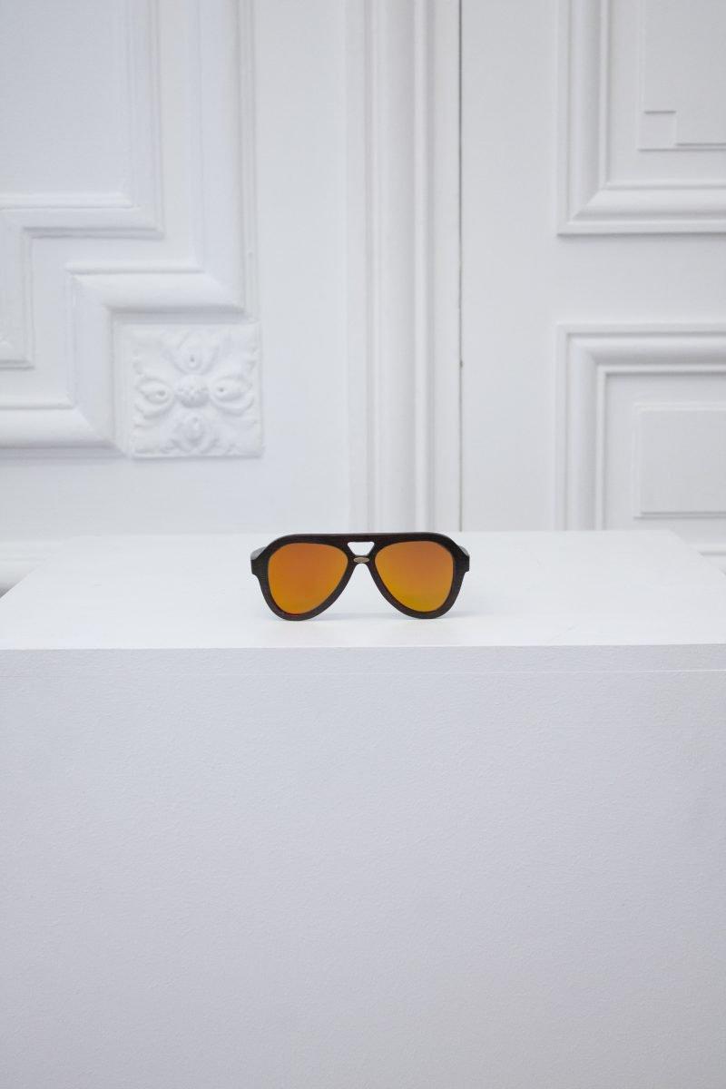 Intergalactic Mirrored Sunglasses - Sun Flare