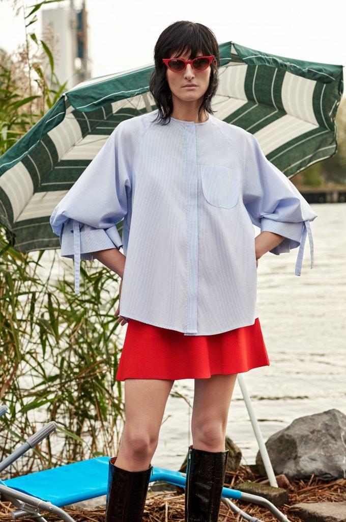 blouse blue front kopie