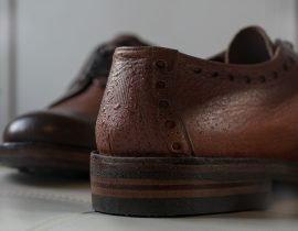 Norwegian Rain in collaboration with British Shoemakers Grenson has created the WATERPROOF SHOE