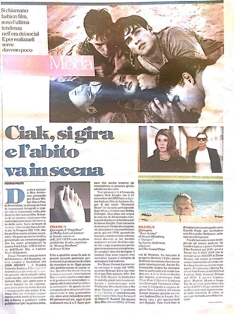 Fashion Film by Federico Poletti in la Repubblica