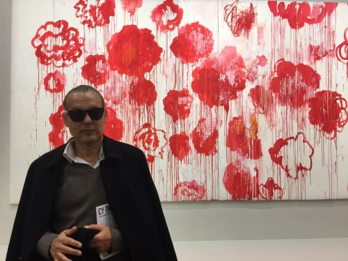 Marco de Rivera at Cy Twombly