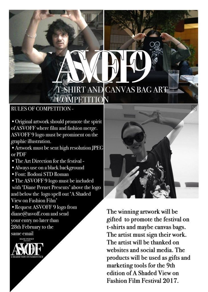 ASVOFF 9 launches a t-shirt competition
