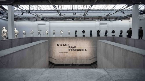 RAW Research collection presentation Paris, France