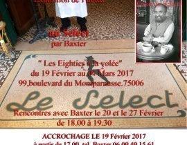 Baxter exhibition Le Select