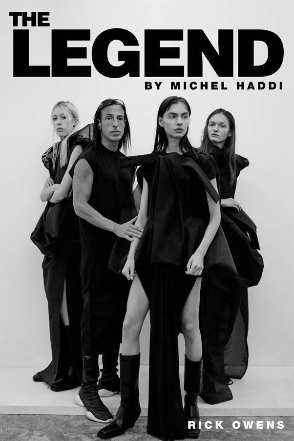 Rick Owens by Michel Haddi