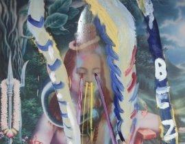 Julian Schnabel Shiva Paintings