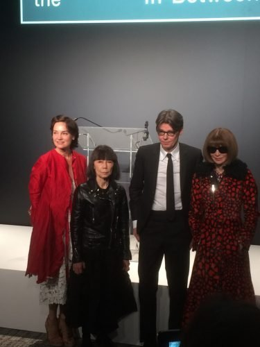 x C Rei Andrew and Anna Wintour