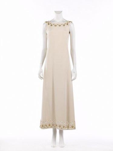 Pierre Balmain robe longue 1970