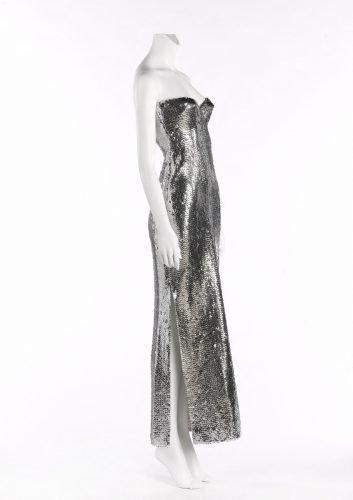 Loris Azzaro robe longue 1976
