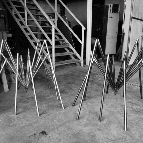 Zeville the spider table