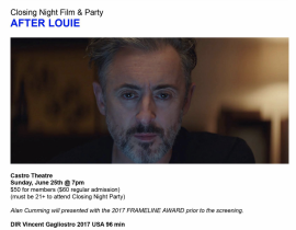AFTER LOUIE AT FRAMELINE SF