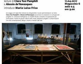 feature A.I. Artisanal Intelligence - Clara Tosi Pamphili and Alessio de 'Navasques introduction Maria Luisa Frisa