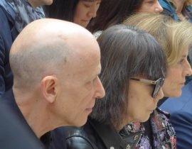 Adrian Joffe and Rei Kawakubo at the Met
