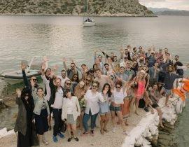 Celebrating Matthew Zorpas' 30th Birthday Party in Greece
