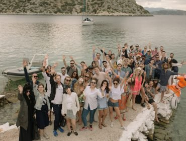 Celebrating Matthew Zorpas' 30th Birthday Party in Greece