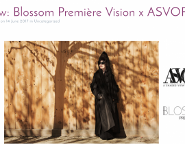 Blossom Première Vision x ASVOFF photo Jerry Lee Ingram