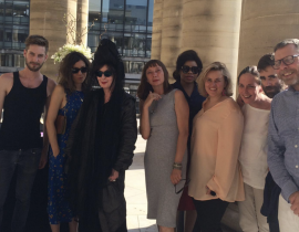 Pierre Barbrel, CHiara Sabatini, Geraldine Postel, Nicole Slack Jones, Aurelie Gibrau, Rebecca Voight , LUTZ and David Ballu