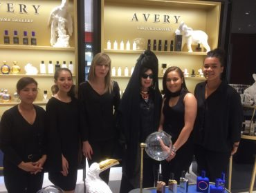 Diane Pernet Paris at the Avery Perfume Gallery in Le Printemps