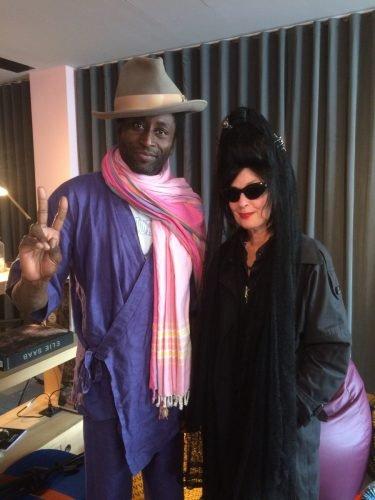 Keziah Jones and DP
