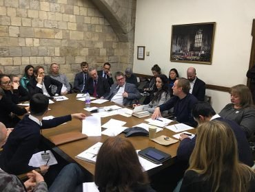 In the House of Commons, at the 1st Roundtable hosted in Westminster