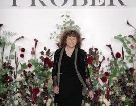 Designer Mimi Prober at her SS18 show