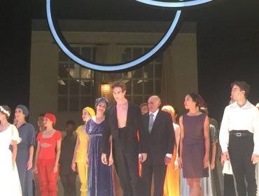 Evan McKie in Nijinsky at Theatre des Champs Elysees
