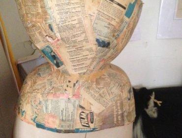 Mr. Pearl corset in paper