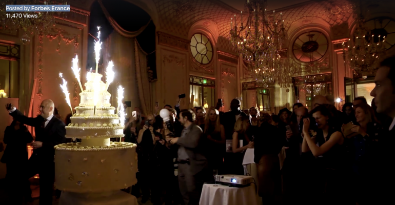 Paris celebrates 001 edition of Forbes France
