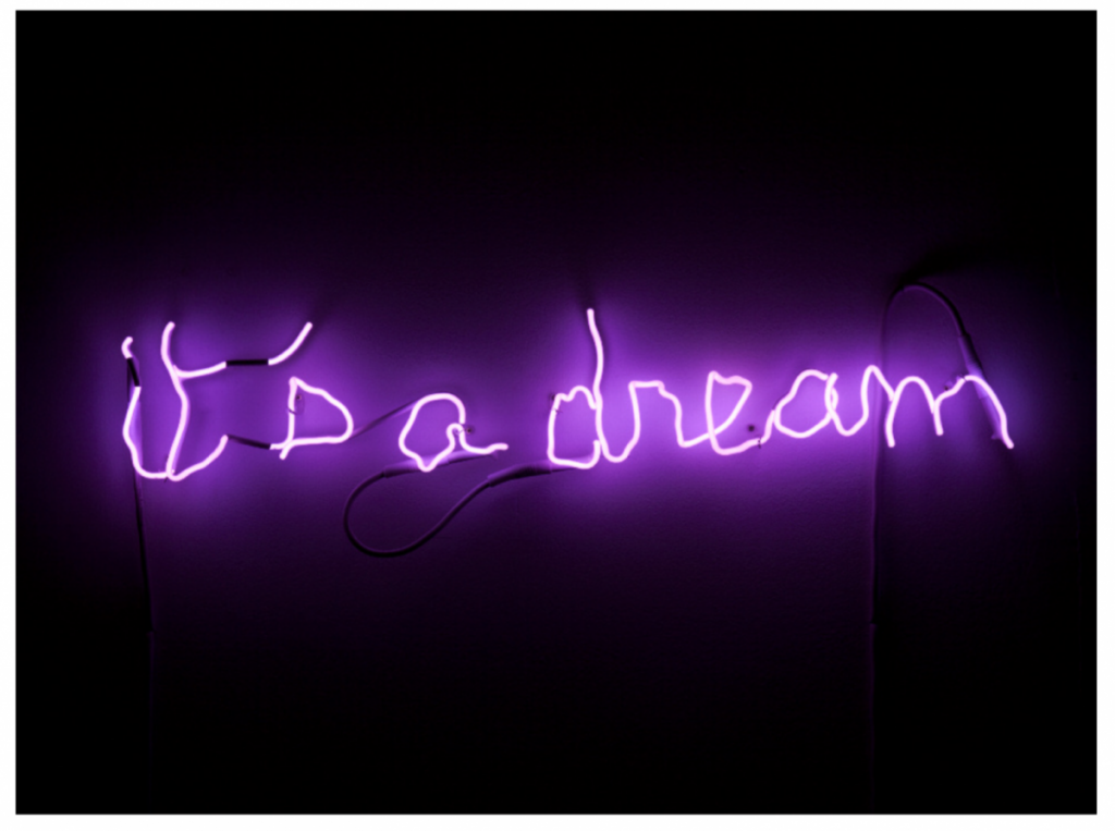 """""""Its A Dream"""", 2016 by Claude Lévèque"""