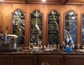 Grand Cafe Tortoni counter