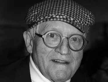 portrait David Hockney by Miguel Villalobos