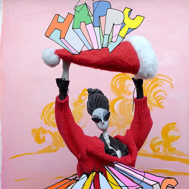 Happy Holidays DP Santa