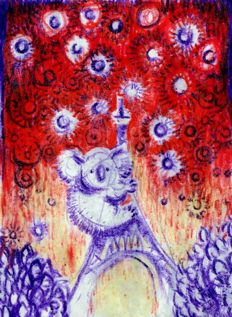 Happy New Year illustration by Miguel Villalobos