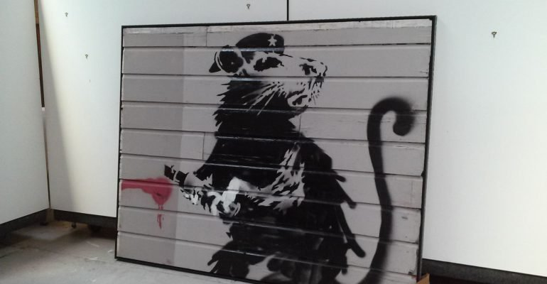 'The Haight Street Rat'  photograph courtesy of Brian Grief