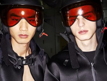 Sonny Vandevelde takes us backstage at Emporio Armani