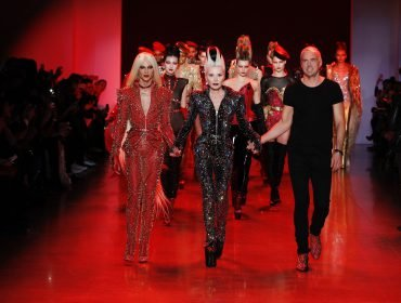 Courtesy of The Blonds, photographed by LECCA
