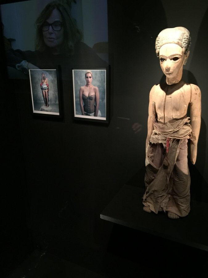 Bettina Rheims Vous etes finies, douces figures at Musee
