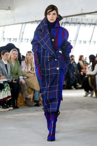 Sacai Fashion Show, Ready To Wear Collection Fall Winter 2018 in Paris