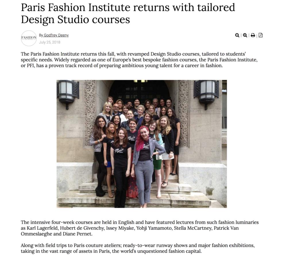 Best Fashion Design School In Paris School Style