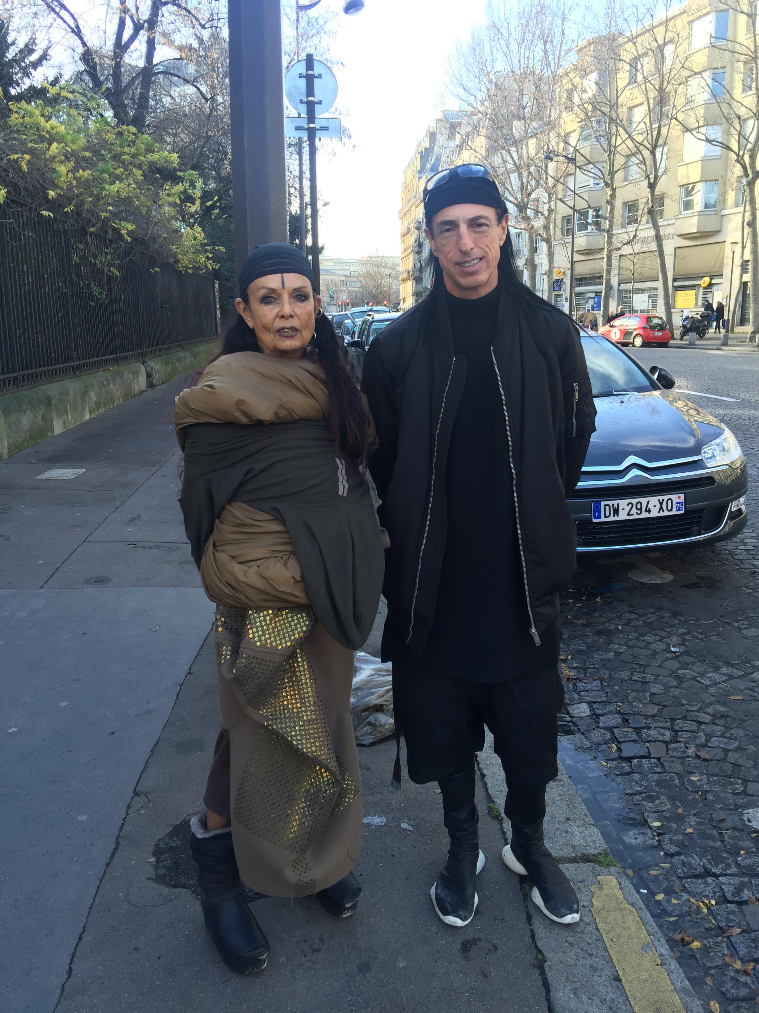 Michele Lamy And Rick Owens Later Diane Featured Images Hy New Year By Marco De Rivera Jpg